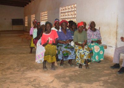 Elderly People in the Village