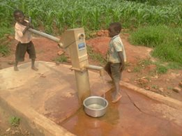 Euthini 1 Borehole drilled by funds raised by Kwenderana