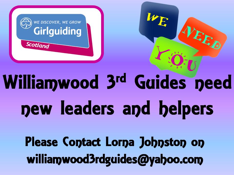 Guides helper request